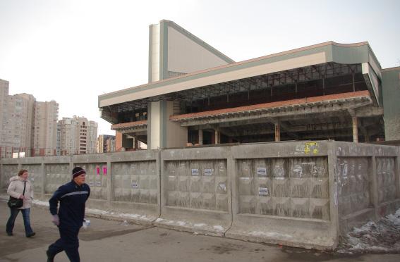Кинотеатр «Русь» у «Пионерской»