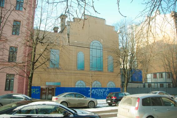 Здание церкви иконы Божией Матери Всех Скорбящих Радость