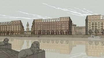 Проект «Набережная Европы», здания на берегу Невы