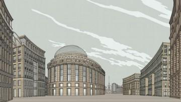 Проект «Набережная Европы», фасады зданий