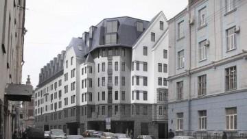 Проект жилого дома на месте Посадских бань, Малая Посадская улица, 28