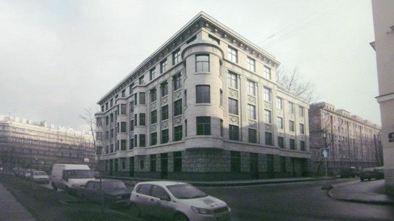 Проект жилого дома на набережной Мойки, 102