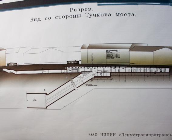 Проект второго выхода со станции «Спортивная»
