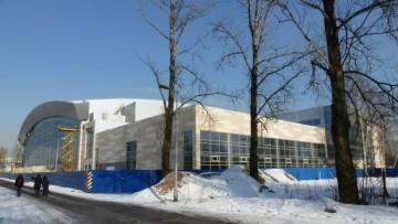 Баскетбольный стадион «Спартак» на Крестовском острове