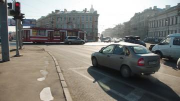 У Тучкова моста вводят ограничения из-за строительства «Спортивной-2»
