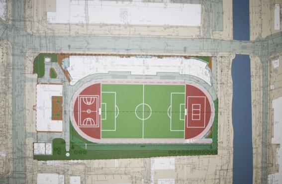 На месте стадиона «Метрострой» на Левашовском построят спортклуб