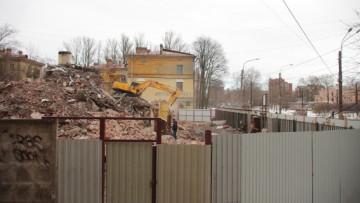 Снесенные Удельные бани на Елецкой улице