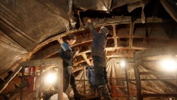 Устранение протечек в эскалаторном тоннеле Невского проспекта