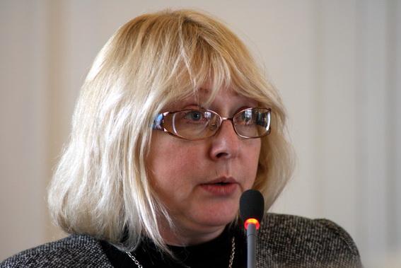 Валентина Лелина, главный специалист отдела северных и южных районов и промышленной архитектуры КГИОП