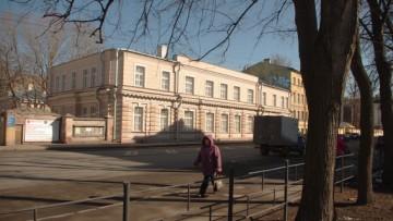 Бывшая детская больница на Рижском, 21