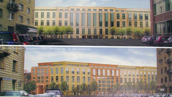 Проект жилого комплекса на Тульской улице, Синопской набережной, Смольном проспекте, проект Риккардо Бофилла