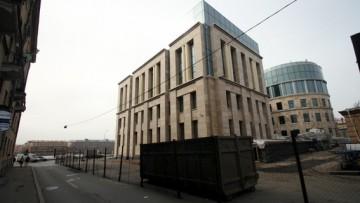 Бизнес-центр Балтнефтепровода, вид с улицы Михайлова