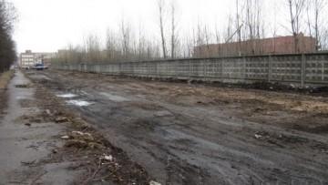 Строительство продолжения Чугунной улицы
