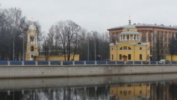Проект колокольни Благовещенской церкви в Старой Деревне
