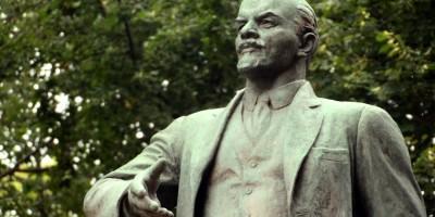 Красное Село, памятник Ленину, скульптура в парке