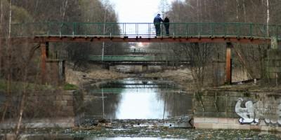 Малоневский канал в Шлиссельбурге