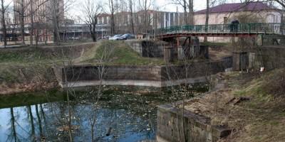 Мост через Малоневский канал в Шлиссельбурге