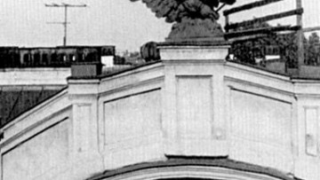 Орел дома Барановской на Большом проспекте, Карповке