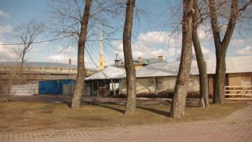 Ресторан «Лето» на территории Петропавловской крепости