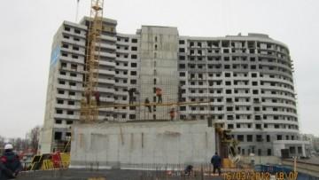 Строительство жилого комплекса «Платинум»