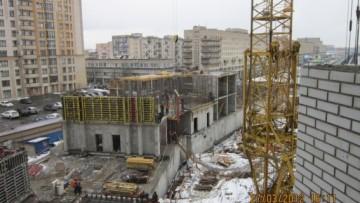 Жилой комплекс «Платинум», 27.03.2012
