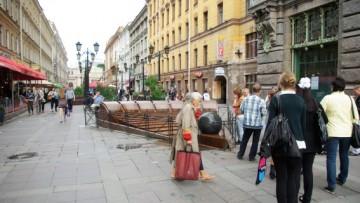 Фонтан на Малой Садовой улице