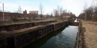 Шлиссельбург, Малоневский канал