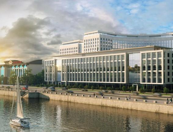 Проект жилого комплекса на Ушаковской набережной