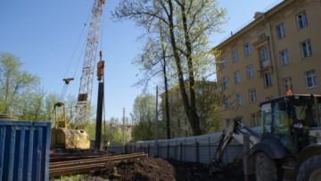 Строительство жилого дома на улице Седова, 42, корпус 2