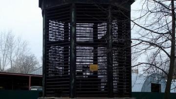 403 шахта метро на Васильевском острове