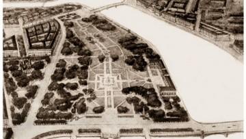 Центральный городской парк Ленинграда на месте ГИПХ, проект