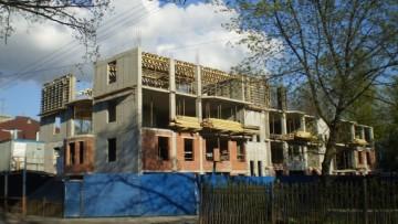 Новый дом на Дибуновской улице