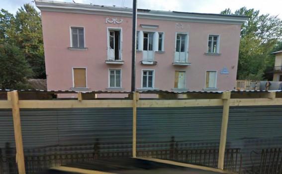 Снос сталинского дома на Дибуновской улице, 22