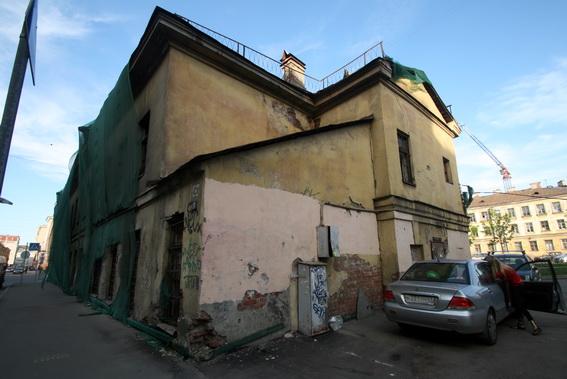 Улица Константина Заслонова, 8, литера А, дом Степанова