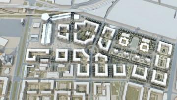 Проект застройки завода «Электросила» на Московском