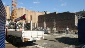Строительство бизнес-центра на Херсонской улице, 12–14