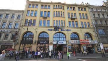 Завершается реконструкция кинотеатра «Художественный» на Невском