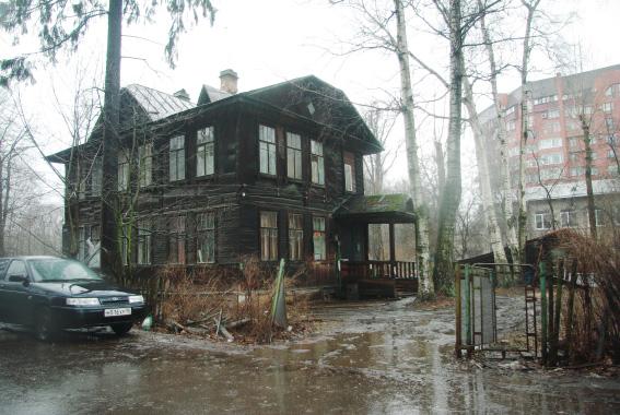 Деревянная дача на Ярославском проспекте, 63