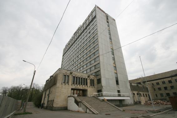 Гостиница «Речная» у Речного вокзала в Петербурге