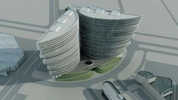 Проект комплекса «Сокол-сити»