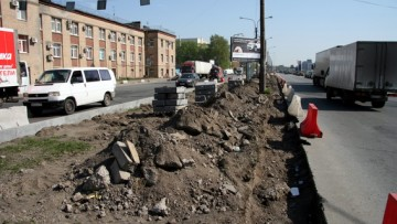 Улица Салова, капитальный ремонт
