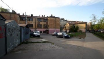 Дома Степанова со стороны Воронежской улицы