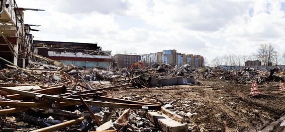 Электросила, Московский проспект, 139, литера Ф, снос, демонтаж корпусов
