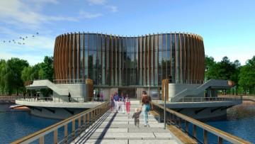 Новый зоопарк в Юнтолове. Проект