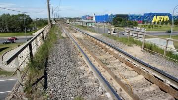 Железнодорожный путепровод на Пулковским шоссе, Окружная, Соединительная железная дорога