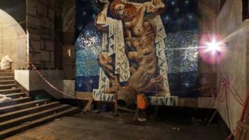 Башню Татлина на «Международной» заменили на пуританского Атланта