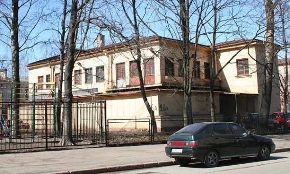 Детский сад на улице Чапаева 16а