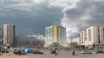 Дом-замок на проспекте Большевиков. Проект