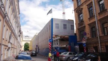 Строительство гостиницы на Галерной улице, 6