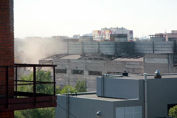 Магнитогорская улица, 11, литера Н, заброшенный заводской корпус